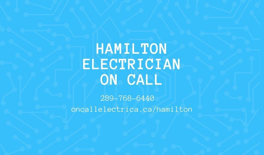 Hamilton Electrician On Call